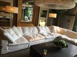 Cloud Sectional Sofa Cloud Cube Modular Leather Sectionals Restoration Hardware In