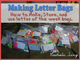 alphabet grab bags how to make and use a grab bag with preschoolers