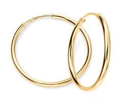 gold sleeper earrings tiny solid gold sleeper hoop earrings 14k 18k 22k