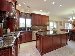 Traditional Kitchen - 23 cherry wood kitchens cabinet designs u0026 ideas designing idea