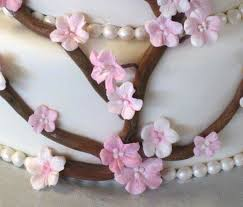How To Make Plastic Icing Decorations How To Make Gumpaste Cherry Blossoms The Easy Way Part 1 Youtube