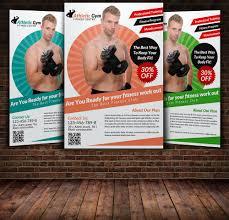 fitness flyer template fitness flyer template flyer templates creative market