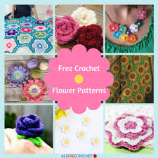 Free Pattern For Crochet Flower - 29 free crochet flower patterns crochet flower pattern video