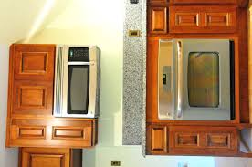 microwave kitchen cabinet custom kitchen with built in oven and microwave decobizz com