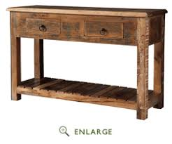 Reclaimed Wood Console Table Reclaimed Wood Console Table Coaster 950364