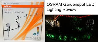Rgb Landscape Lights Osram Lightify Gardenspot Mini Rgb Led Landscape Lighting Review