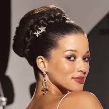 wedding hairstyles braids african american wedding party ideas