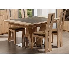 Table De Cuisine En Verre Avec Rallonge by Table Salle à Manger Meuble House