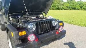 burgundy jeep wrangler 2 door jeep wrangler unlimited lj for sale youtube