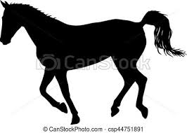 Pictures Of Black Mustangs Eps Vectors Of Silhouette Of Black Mustang Horse Vector