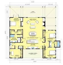 model garage apartment house plan with 2 bedrooms open floor plan