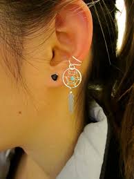 what is ear cuff 32 best ear piercings images on jewelry earrings and
