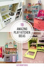 play kitchen ideas play kitchens teamson uptown wooden play kitchen vintage