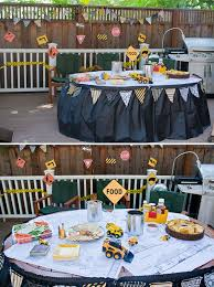 Construction Party Centerpieces by Kiddies Table Decoration Construction Theme Party Construction