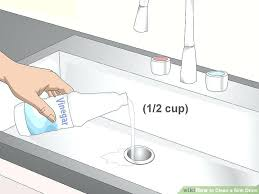 Clogged Bathroom Sink Drain How To Clean The Kitchen Sink Drain Clean Bathroom Sink Drain