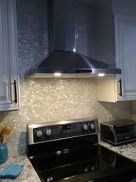 kitchen stove backsplash interior pearl backsplash scallop mosaic tile mother of pearl