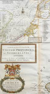 Map Of The Netherlands 1720 Herman Moll Large Antique Map Of The Netherlands Holland