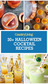 diy martini bar 32 easy halloween cocktails u0026 drinks best recipes for halloween