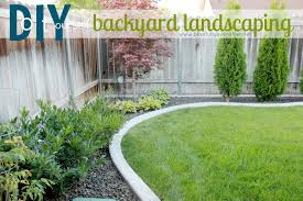 Basic Backyard Landscaping Ideas by Triyae Com U003d Inexpensive Backyard Designs Various Design