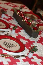 easy make christmas table decorations adorable various table