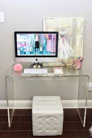love this desk setup doensn u0027t take up much space apartment