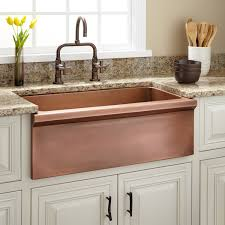 Bria Copper Farmhouse Sink Kitchen - Copper farmhouse kitchen sink
