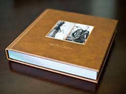 leather wedding photo album wedding album trieste keith sargeant creative