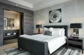 chambre a coucher noir et gris chambre a coucher grise chambre a coucher adulte 127 designs beaux