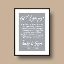 60th wedding anniversary gifts 60th wedding anniversary gifts unique 60th anniversary gifts on
