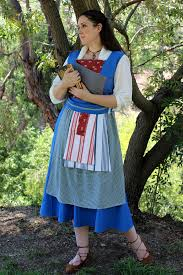 Belle Halloween Costume Blue Dress Belle Blue Peasant Dress Beauty U0026 Beast 2017 Belle