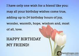 happy birthday greetings quotes wishes for a friend sayingimages