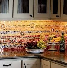 Unique Kitchen Backsplashes 39 Best Colorful Kitchen Backsplashes Images On Pinterest