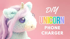 Head Cushion Socks Diy Unicorn Phone Charger Diy Unicorn Sock Plush Diy Phone