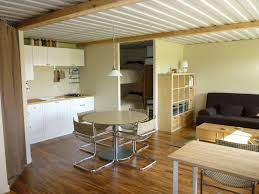 shipping container home interiors tin can cabin shipping container home interior think small to