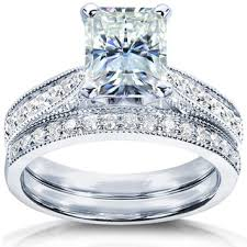 overstock wedding ring sets wedding ring sets bridal jewelry sets shop the best wedding ring