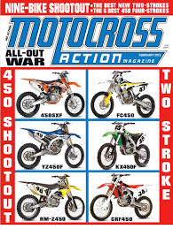 motocross action 450 shootout have you seen the new mxa you don t know what you are missing