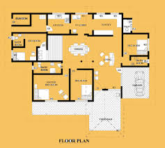 peaceful design 4 house plans in sri lanka one story modern house