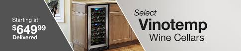 Wine Cabinet With Cooler by Wine Cellars U0026 Coolers Costco
