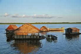 file floating houses on the amazon jpg wikimedia commons