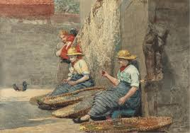 winslow homer in cullercoats 3 women at work u2013 the eclectic light