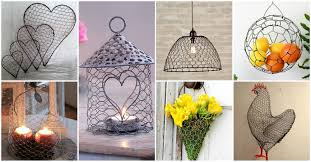 Diy Craft For Home Decor by 20 Diy Chicken Wire Crafts That Will Fascinate You