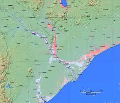 Mozambique Map Malawi Flood Map 2015