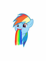 Puking Rainbow Meme - rainbow dash puking rainbow meme by 13lue1ce on deviantart