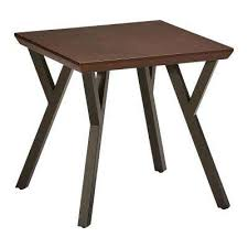 Oak End Table Oak Accent Tables Living Room Furniture The Home Depot
