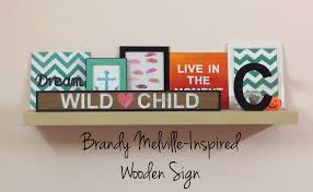 Brandy Melville Home Decor Diy Brandy Melville Inspired Wooden Sign Lipstiq Com