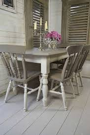 pictures of painted dining room tables chalk paint kitchen table and chairs best furniture images dinning