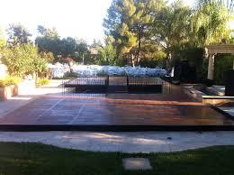 party rentals san francisco platform plexi glass floor pool cover rental san jose san