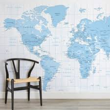 world map wallpaper u0026 atlas wall murals murals wallpaper