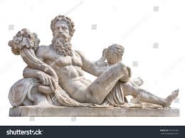 marble statue greek god zeus cornucopia stock photo 459127336