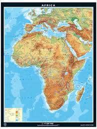 Africa Geography Map by Maps Physical Map Africa